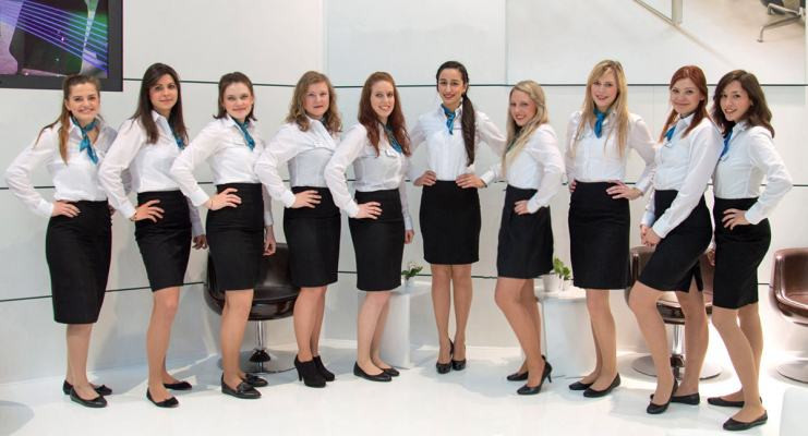 Exhibition Hostesses Team