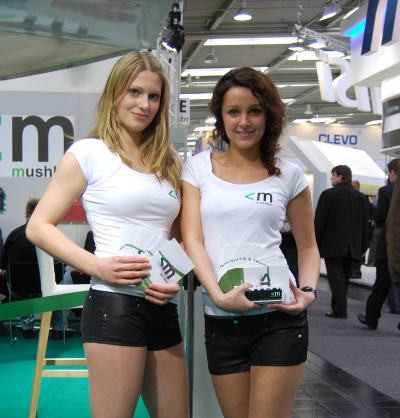 Messepromotion Hostessen